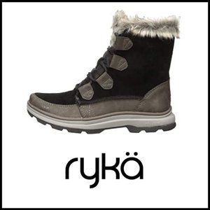NWT RYKA Water-Repellent Suede Winter Boots, 7.5M